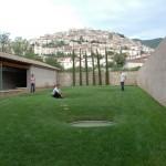 Progetto di architettura Ortus Artis -  Da lontano