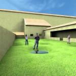 Progetto di architettura Ortus Artis - Vista certosa